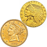 Gold Half Eagles