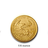 1/4 Ounce Gold Eagles (Bullion)