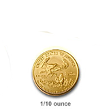 1/10th Ounce Gold Eagles (Bullion)